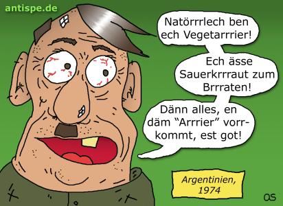 Hitler ist Vegetarier?
