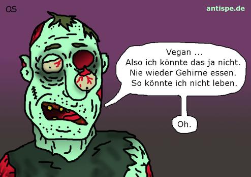 Zombie: nicht leben