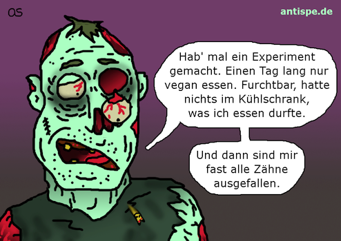 Zombie: Selbsversuch